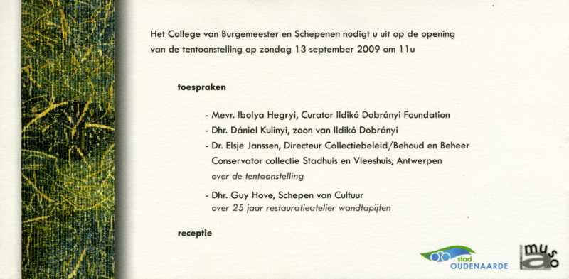 Oudenaarde Invitation 2
